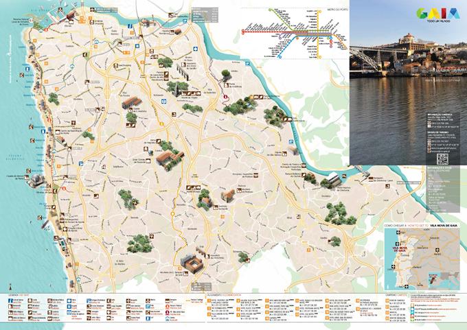 1e1316641 Mapa Turístico - Turismo - Câmara Municipal de Gaia